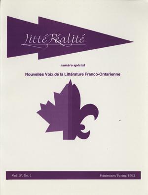 View Vol. 4 No. 1 (1992)