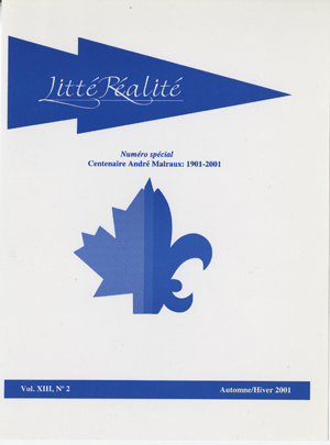 View Vol. 13 No. 2 (2001)